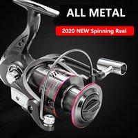 5000 All Metal Fishing Reel Spool Spinning 12KG Max Drag Stainless Steel Handle Saltwater Accessories Baitcasting Reels