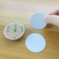 Soporte de teléfono celular en blanco de sublimación Piezo de plástico con inserción de metal Trasnfer de calor Impresión de sublimaciones Soporte de agarre