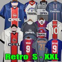 Retro Soccer Jersey 93 94 95 96 Okocha Leroy Adailton Beckham 98 99 00 01 90 92 Classic Rai Anelka Ibrahimovic Camisas de Futbol