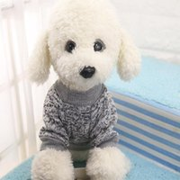 Dog Apparel Pet Classic Wweater Wool Brushed Sweater Casual Style Clothes Warm Autumn And Winter 10 Color
