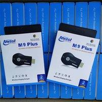 Anycast M9 Plus Wireless WiFi عرض دونغل استقبال RK3036 ثنائي النواة 1080P HDTV عصا العمل مع Google Home و Chrome YouTube Netflix