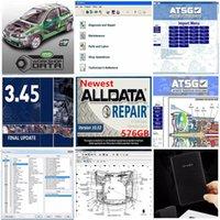 AllData Versão mais nova Todos os dados V10.53 e MIT 2015 Reparação de automóveis Soft-Ware Vivid ATSG com 1TB HDD Melhor Qualidade