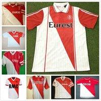 Retro Monaco Fussball Jersey 82 90 91 92 94 95 96 97 Tuybens Dalger Vintage als Ben Yedder Jovetic Golovin Flocage Jorge Football Shirt