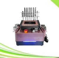 salon spa new 6 in 1 rf ultrasonic 40k cavitation slimming device laser lipo machine