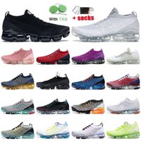 TN Plus Flynit Running Shoes Fly Knit 3.0 Men White South Beach Red Laser Gold Pink Rose Air Vapour Max Sports Sneakers ulanbatorn
