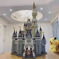 toyCompatible with LEGO Di Schneider Castle Street View Architecture dreamland Lee is the same 71040 assembled building block toyfidget