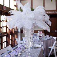 Страус перья 17,7 к 19,7 дюйма или 45-50 см натуральные страусные перья для партийных свадебных украшений ручной работы перья