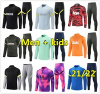21 22 Mens soccer tracksuit football training suit 2020 2021 2022 football tracksuit jogging survetement de foot chandal