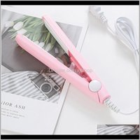 Curlers & Straighteners Personal Care Household Appliances Mini Clipper Hair Crimper Curling Curly Iron Straightener Brush F Jllsap Drop Del