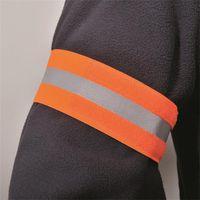 1 ADET Bisiklet Yansıtıcı Şeritler Uyarı Kol Bandı Reflektör Bileklik Bisiklet Bağlama Kayışı Pantolon El Bacak Spor Bant Bisiklet Güvenlik Uyarısı 423 Z2