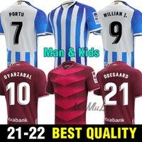Gerçek Sociedad 2021 2022 Futbol Forması Copa Del Rey Üçüncü Oyarzabal X Prieto Portu 3rd David Silva Odegaard Juanmi 21 22 Camiseta De Futbol Futbol Gömlek