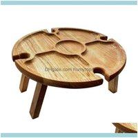 Möbel und Camping Wanderung Sport OutdoorsMutter Tag Geschenk Outdoor Portable Massivholz Holz Picknick Wein Tisch mit einziehbaren Beinen ho