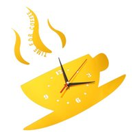 Wall Clocks 1Pc Clock Modern DIY Sticker Mirror Home Decor