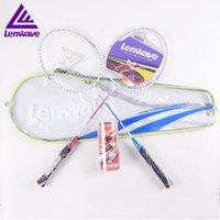 Heißer Verkauf Marke Badmintonschläger / einzigartiges Design 1 Paar Badmintonschläger