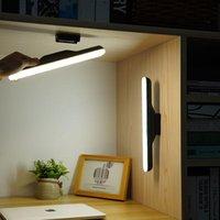 Recarregável LED Closet Luz Dimmable Touch Touch Bar Night Wall Luzes Para Crianças Beliche Cama Gabinete Lâmpada Vaidade Espelho