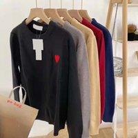 Männer Sweaters Designer Damen Strickpullover Paar Hoodies Sweatshirt Männer Klassische Liebe Herzförmige Einfache Pullover Mode Herbst XS-3XL