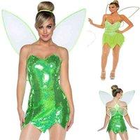 2021 Yeni Cadılar Bayramı Cosplay Rol Oyna Elbise Naughty Peri Kanat Kostüm
