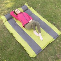 Outdoor Pads Automatic Inflatable Cushion Portable Double Air Mattress For Sleep Sports Camping Equipment Moisture-Proof Beach Mat
