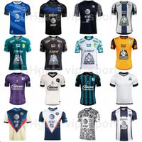 2021 2022 Soccer Mexico Liga Jerseys Queretaro FC Leon Club America Monterrey 7 Ramirez 13 Mena 9 Martinez 11 MEZA