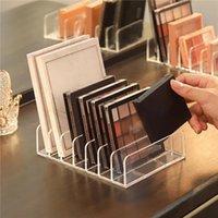 Storage Boxes & Bins 1Pc Eyeshadow Palette Organizer Eyepowder Tray Cosmetics Rack Makeup Tools Compartment Holder For Women