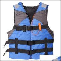 Life Swimming Water Sports OutdoorSlife Weste Boje Anhänger Bootfahren, Surfen, Segeln, Jacke AID KAYAK Ski-Auftriebsfischen Watersport im Freien