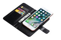 Universal Flip Leather Phone Cases for Iphone Samsung Moto LG Nokia Sony Clip Retro Wallet Card Slot holder Book Pouch Cellphone Covers