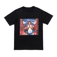 T Shirt Streetwear Men Women Hip Hop T Shirt Mens Black White T Shirt Tees Size S-XL