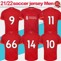 The Red Fussball Jersey 2021/2022 Männer Erwachsene EPL Das Säkulare Vogel Home Soccer Hemd 21/22 Kids Kits Away Football Uniform Customized Name Number Fans Version