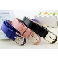 Belts Wide For Women High Quality Leather Belt Brand Jeans Strap Ceinture PU With Diamond Fashion Cummerbund