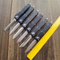 Micro-tecnologia dupla ação automática de faca utx-85 cnc tático EDC Bolso Knifes Camp autodefesa facas uTX85