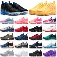 Max Buhar TN Artı Koşu Ayakkabıları Erkekler Kadınlar Üçlü Siyah Cilazlık Mor Kiraz Sarısı Bubblegum Pastel Bayan Açık Spor Eğitmenler Sneakers Yürüyüş Jogging 36-47