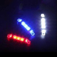 5pcs lot Ultra Bright Bicycle Accessories Lights Seatpost Flash Light Night Cycling Safety Warning Lamp USB Rechargeable Lantern Bike