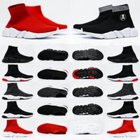 Balenciaga speed trainer Sock 1.0 shoes Mens sock Casual shoes Platform womens Sneakers balanciage 2.0 Triple Black White Classic with Lace walking outdoor fly socks speeds boot