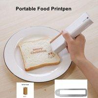 Printers PrintPen Coffee Print Portable Inkjet Printer Handheld Edible Food In Bread Cake Mold Latte Baking #R20
