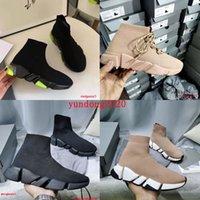 2021 مصمم الجوارب أحذية رياضية الرجال الفاخرة عارضة الأحذية 2.0 إمرأة ماركة شقة espadrilles أعلى جودة أزياء رجالي المرأة جورب الأحذية