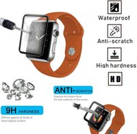 Curved Edge PET+PMMA Screen Films for Apple 38MM 42MM 40MM 44MM I-wtach 7 41MM 45MM Smart watch Tempered Glass
