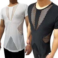 Latin Dans Gömlek Erkekler Hollow Kısa Kollu Gömlek Salsa Rumba Tango Cha Erkek Latin Dans Uygulama Giyim Giyim DNV133381