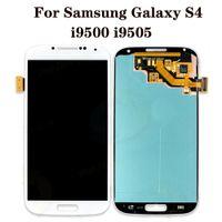 """لوحات لسامسونج غالاكسي S4 اللمس تستخدم لإصلاح الهاتف عرض أعلى جودة الأصلي 5.0 """"i9500 i9505 m919 L720 i545 i337 الجمعية محول الأرقام استبدال شاشة LCD"""