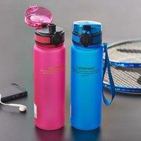 Real Proteína UzSpace Portable Motion My Tritan Water Garrafa sem BPA Plastic Copo para esportes Camping 350/650/1000 ml Vidros de vinho