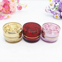 Storage Bottles & Jars 5g Three Color Cosmetic Cream Convenient Portable Travel Refillable Container Top Quality Acrylic MakeUp
