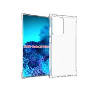 Anti-Knock Clear Phone Cases For Samsung Galaxy S22 Plus S21 FE S20 Note 20 Ultra A22 A13 M52 M32 A03S TPU Transparent Back Case Cover