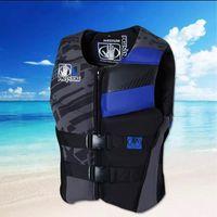 Life Vest & Buoy Jacket Adult Safety Water Sports Fishing Kayaking Boating Swimming Drifting Tight Wear