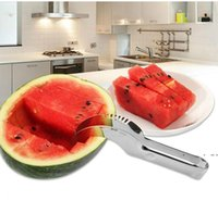 Fruit Tools watermelon slicer Stainless Steel Faster Melon Cutter Server Corer Cantaloupe Cutting Seeder Scoop DWD6702
