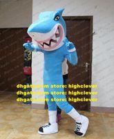 Blue Shark Killer Whale Grampus Costume da mascotte adulto personaggio dei cartoni animati personaggio artistico prestazione parco divertimenti ZZ6872
