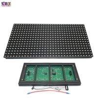 Modules P10 320*160mm 32*16pixels DIY Matrix RGB Full Color  single LED Display Module IP65 Panel Window Sign Shop Out Door