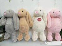 Plüschspielzeugurlaub Puppen Die Form von Cartoon Hase mit langen Ohrenpuppe für Weihnachtsgeschenke Kinderspielzeug