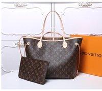 "2021 mulheres luxurys designers sacos mulheres saco crossbody bolsas genuínas bolsas senhora bolsa de moeda 2pcs m40156Lv ""louis"" vitton vutton"