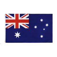 العلم الوطني أستراليا 90x150 سنتيمتر الطباعة البوليستر 3x5ft لافتات الأعلام الأسترالية DWA7741