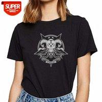 T-shirt Femmes Cthulhu Tentacle Octopus Kraken Sea Monster Cadeau Drôle Blanc Coton Femme Chemise Fête # OB4T