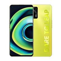 "Original Realme Q3 Pro 5G Mobiltelefon 8 GB RAM 128 GB 256GB ROM MTK Dimension 1100 64MP AI 4500mAh Android 6.43 ""Am gelöster Vollbild-Fingerabdruck-ID Gesicht Smart-Handy"